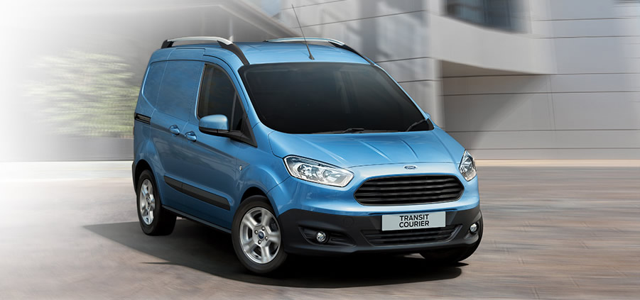 edb06f0ad3 The winner in the small vans class is the Ford Transit Courier Van