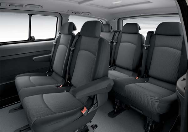 Cheap prices on new Mercedes Vito Traveliner vans with finance leasing deals